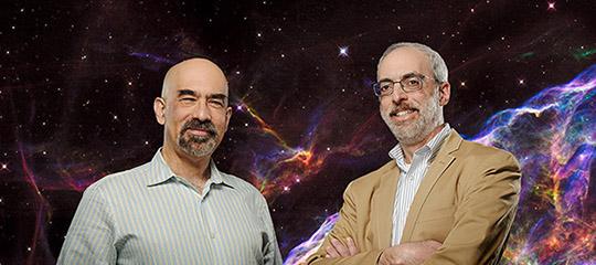 David Spergel and Jeremy Kasdin of Princeton University