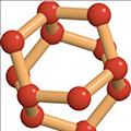 Hexagonal ice molecule