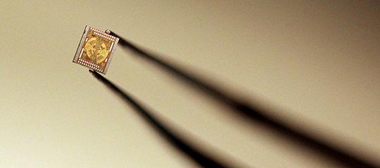 Terahertz chip image
